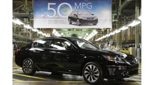 Meet the 50 MPG Rated Honda Accord Hybrid