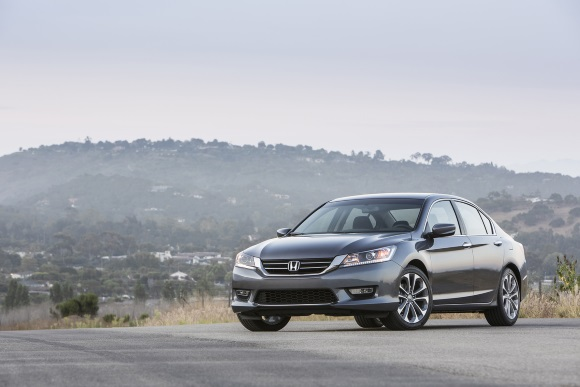 Honda Accord Wins Car and Driver Magazine 2015 10Best Cars Award