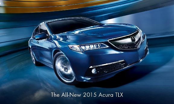 Acura Launches All-New 2015 TLX with Biggest Marketing Campaign in Brand History