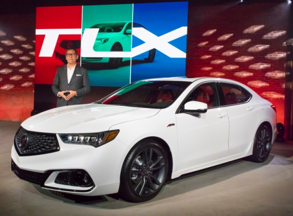 2018 Acura TLX Makes World Debut