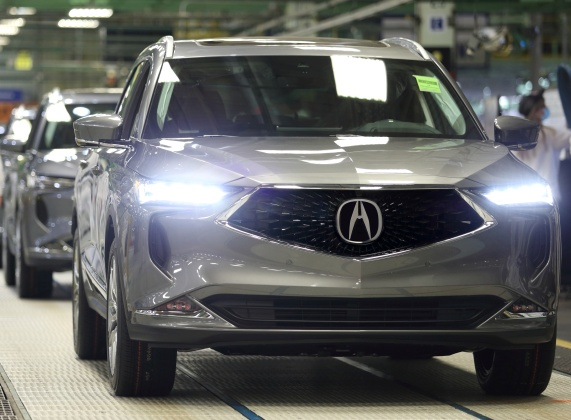 Production of All-New 2022 MDX Begins in Ohio, Creating New Flagship of the Acura Brand