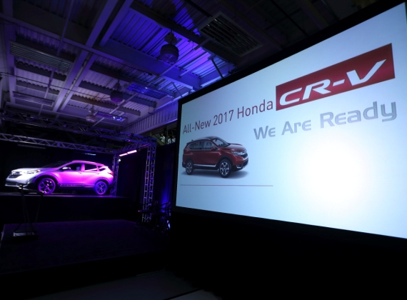 Honda Begins Production of All-New 2017 CR-V in Ohio
