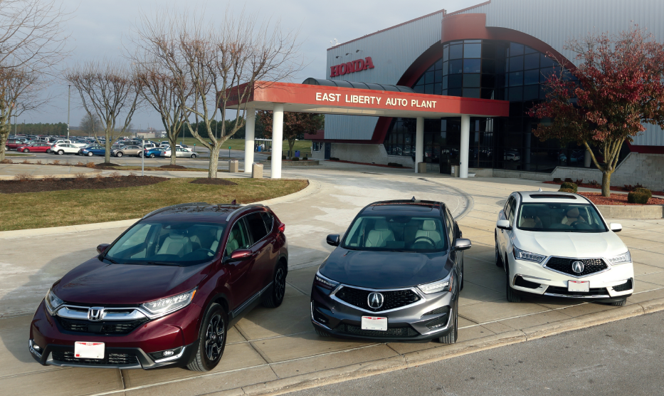 Honda's East Liberty Auto Plant Marks 30 Years of Production