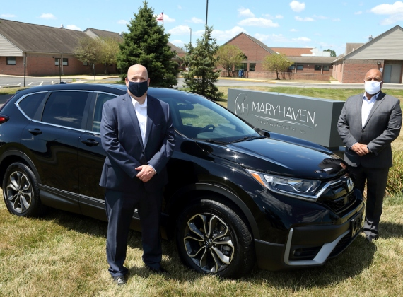 Honda of America, Mfg. Donates a Honda CR-V to Help Adolescents at Maryhaven, Inc.