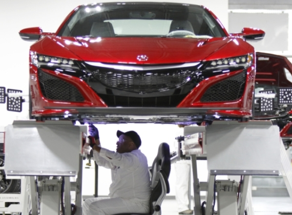 Acura Announces Plans for Start of Serial Production of the 2017 Acura NSX