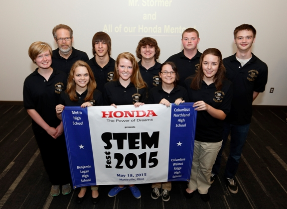 Honda Hosts STEM Fest