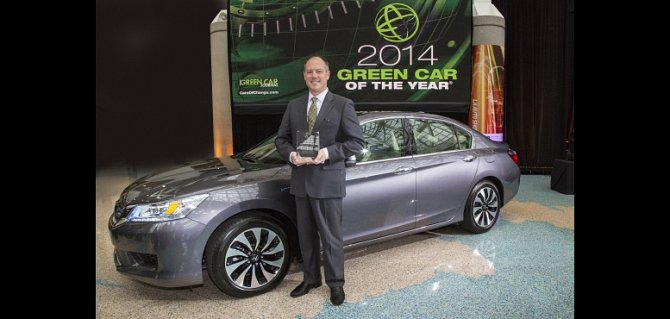 "Honda Accord Named ""2014 Green Car of the Year"" by Green Car Journal"