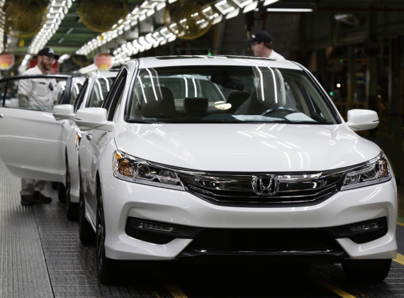 Honda Celebrates Four Decades of Accord