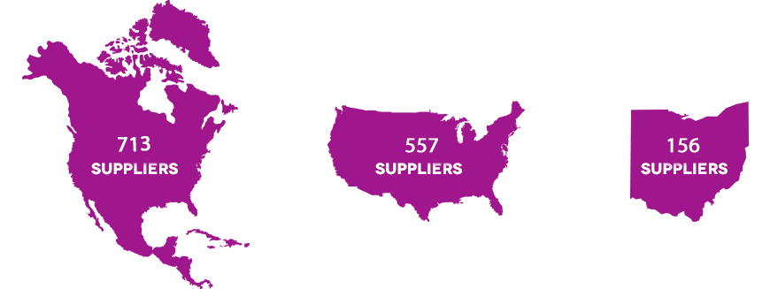 Suppliers Network Infographic
