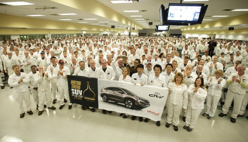 2014 - Another milestone for the East Liberty Auto Plant