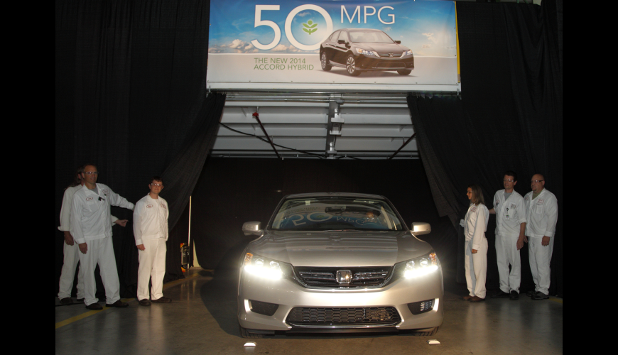 2013 - 2014 Accord, The First Hybrid Built In Ohio