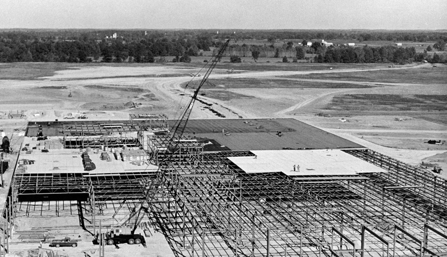 1978 - Construction Under Way