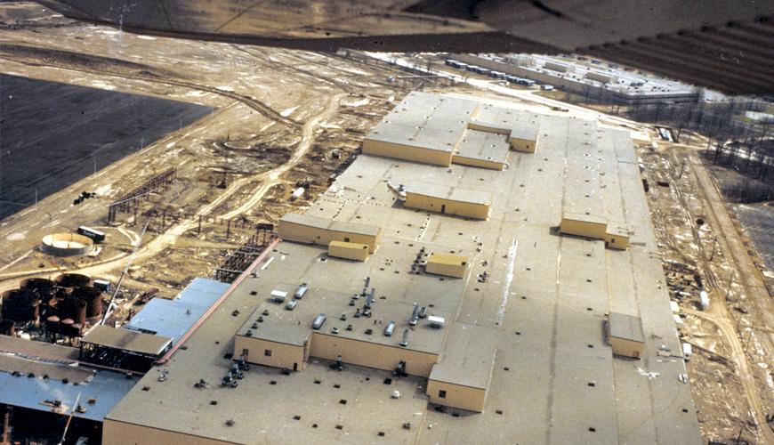 1981 - Construction Underway