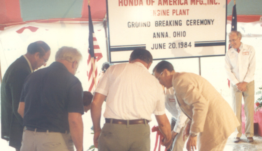 1984 - Unveils Plans in Anna, OH