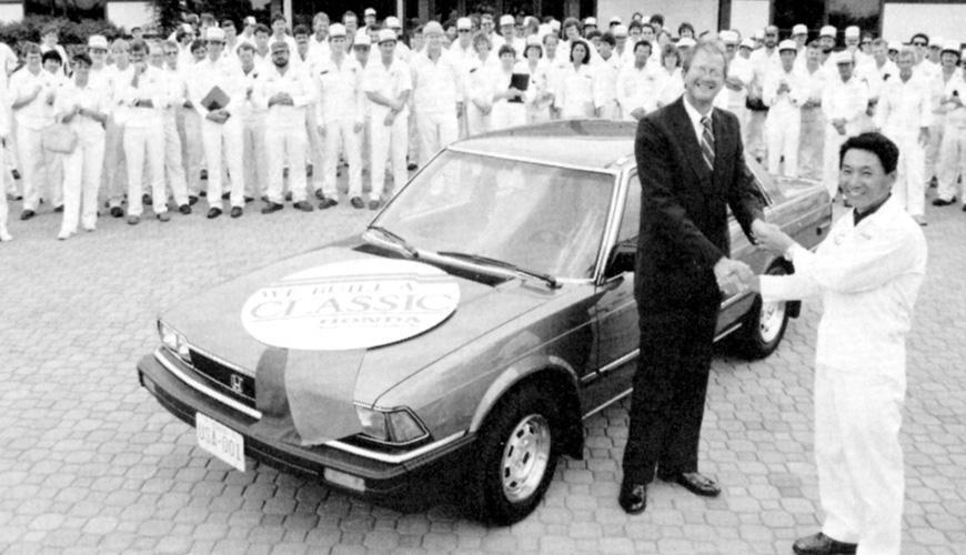 1987 - First 4-Door Accord