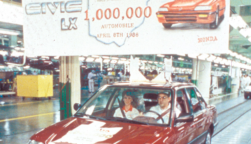 1988 - 1,000,000th Vehicle