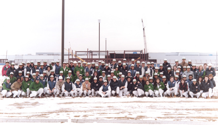 1988 - Construction at Second Auto Plant