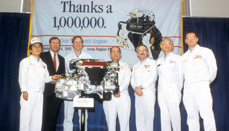 1991 - One Millionth Engine