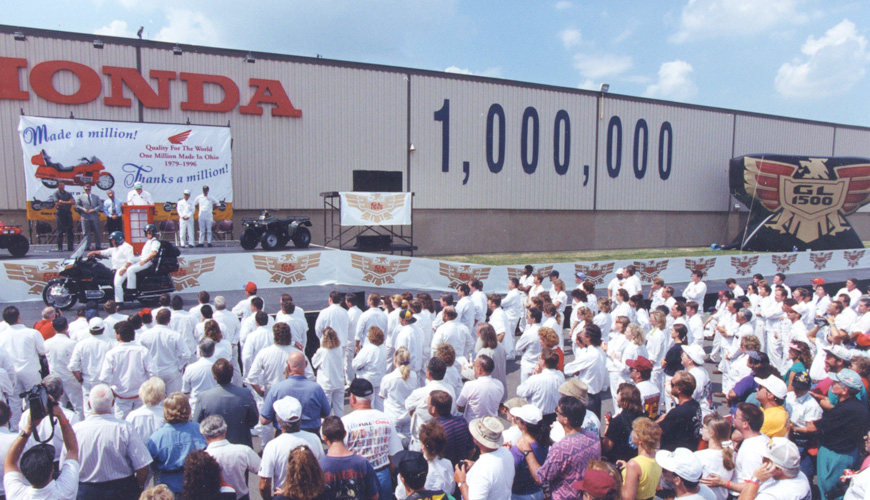 1996 - 1 Millionth Vehicle at Marysville