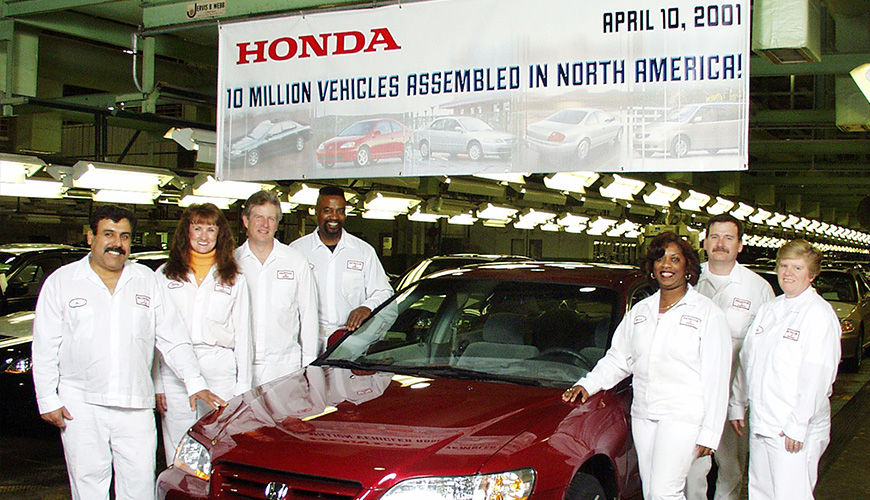 2001 - 10 Millionth Vehicle