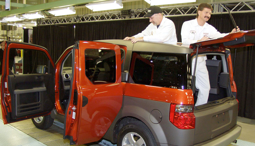 2002 - Honda Element