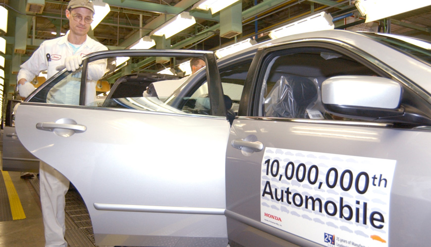 2003 - 10 Millionth Automobile