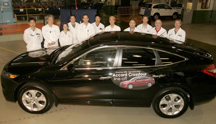 2009 - Honda Accord Crosstour