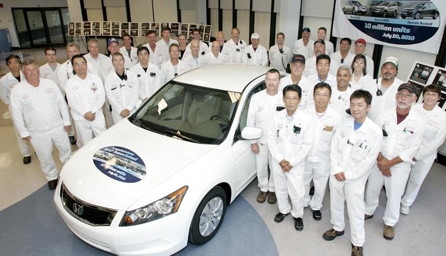 2010 - 10 Millionth Unit at Marysville